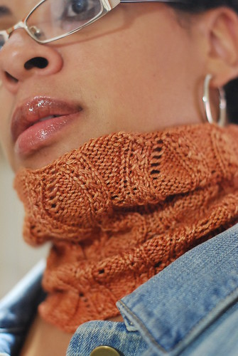 Autumn Swirls Cowl 1