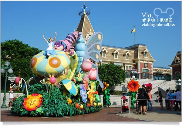 【香港迪士尼】跟著via玩香港(3)~迪士尼卡通人物歡樂巡遊23