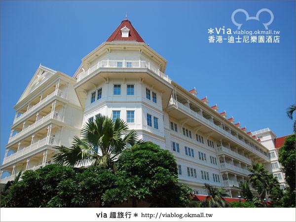 【香港住宿】跟著via玩香港(4)~迪士尼樂園酒店(外觀、房間篇)10