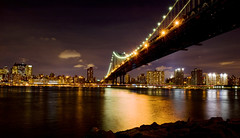 New York (Christian Panama - www.christianschriefer.com) Tags: new york newyork night puente noche nikon bright 2470mm d700