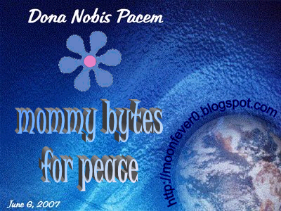 peace globe mommy bytes