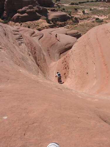 joe slick rock biking moab ut
