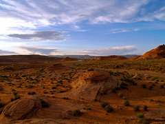 Sundown, you better take care (fields of bohemia) Tags: arizona orange southwest landscape sandstone desert page questfortherest
