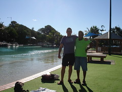 Steve and Al at Redcliffe