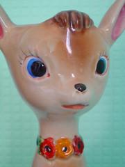 deer vase (clare nicolson) Tags: cute vintage ceramic kitsch deer vase