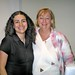 Guatemalan journalist, Marielos Monzon, Belfast - AI Belfast with Monica Mc Williams 0007(Copyright © Kevin Cooper)