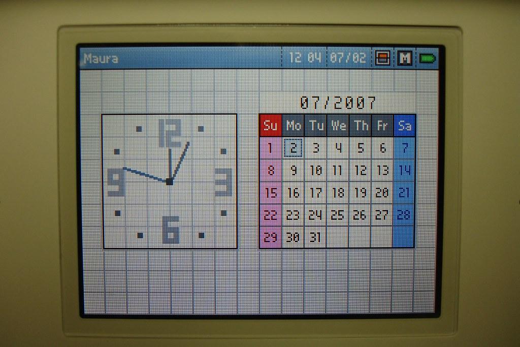 DS Lite, Calendar!