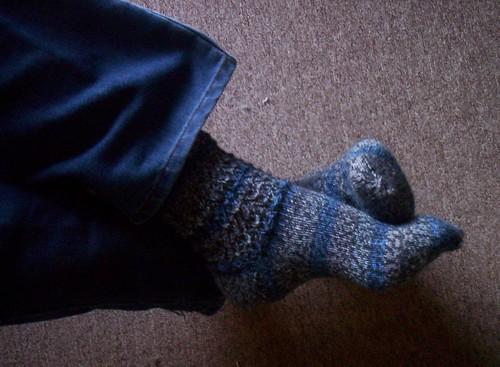 Mock Croc socks