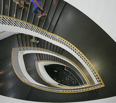 Vertigo (Mandana (on and off)) Tags: chicago architecture bravo flickr searchthebest stairway explore m
