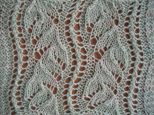 Lace Wool Knitting Patterns : Chinese Lace The Walker Treasury Project