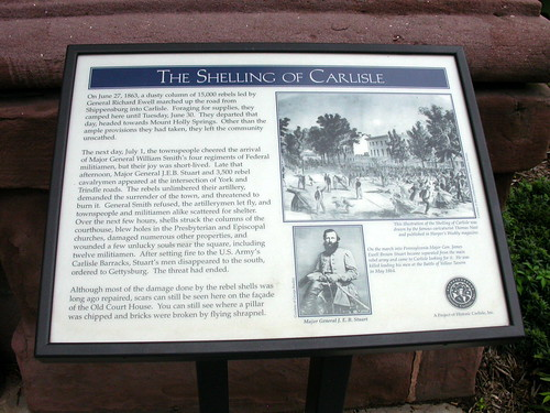 The Shelling of Carlisle