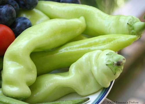 Sweet Banana Peppers