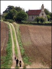 2007: Darmsden (Simon_K) Tags: road autumn church beautiful graveyard field rural lost countryside suffolk long loneliness village path walk travellers churches progress chapel traveller trail valley lane fields remote lonely winding churchyard meander meditation metaphor distance kerouac footpath stroll ontheroad pilgrimage plough 1000 rugged wander pilgrim eastanglia distant bridleway 1000views poignant pilgrimsprogress ploughedfield smorgasboard 10faves remoteness suffolkchurches 250v10f needhammarket estatevillage 070901 darmsden wwwsuffolkchurchescouk