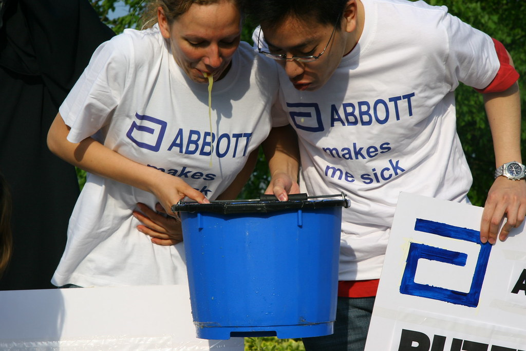 Abbot makes us sick