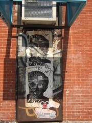 Bäst + Stabs + Billi Kid Brand w/ Melvind (Becki_Fuller) Tags: street nyc streetart newyork photography graffiti manhattan bast wheatpaste bäst stabs melvind billikidbrand