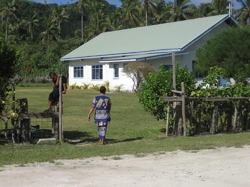 Catholic church Niuatoputapu