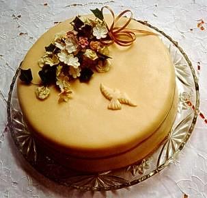 torta de mazapan primera comunion por gâteaux.