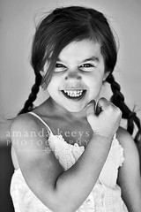 Miss Muscles ({amanda}) Tags: girl muscles kid child mykid 85mm naturallight pigtails tough 5years amandakeeysphotography