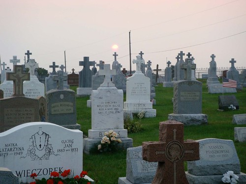 Guest Shot: Sunset over Cemetery