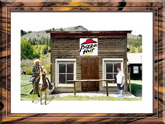 The Last Pizza Hut in the Dessert