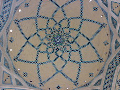 سقف اثراستادبناحاج علی محمد رحیمی بیدگلی