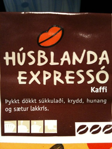 Icelandic Coffee