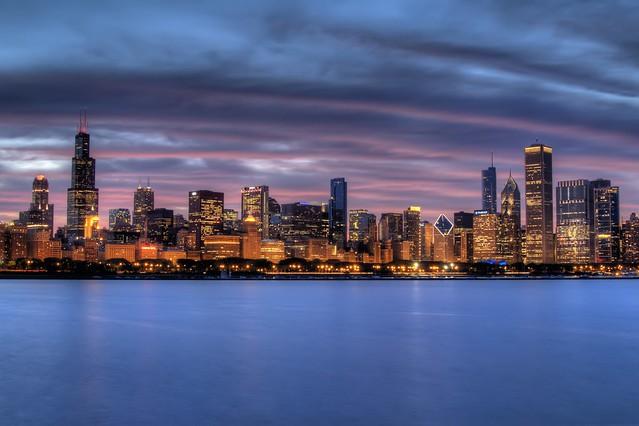 Chicago Skyline HDR