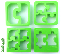 Match and Munch puzzle shapes