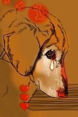 [フリー画像] グラフィックス, イラスト, 動物(イラスト), 犬・イヌ, 201006291100