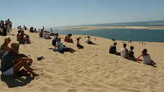 Watching the Atlantic (Mama Tumshie) Tags: france bordeaux arcachon duneofpyla