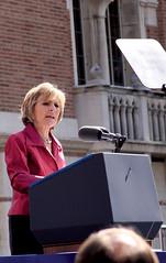 Barbara Boxer (CoreySnake) Tags: party america us moving senator barbara boxer usc democrat forward 2010