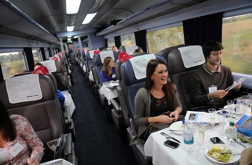 Branding a private carriage - anti-macassars / headrests