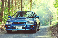 [Free Image] Vehicle, Car/Automobile, Subaru, Subaru Impreza, 201104202300
