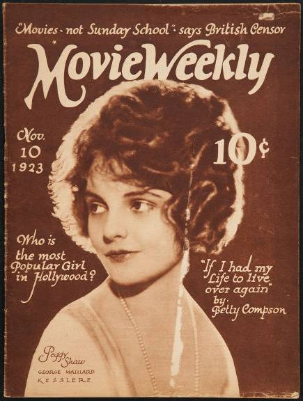 Copy of </p><p> </p><p>MovieWeekly1923Nov10_Cover