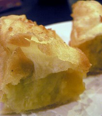 deep fried durian pancake