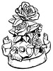 More skulls and roses
