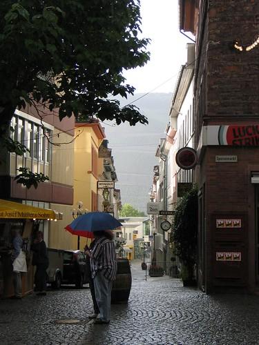 Regen und Sonnenschein
