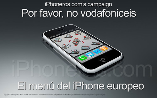 No vodafoniceis el iPhone