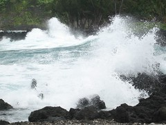 Day9_Maui_Road_to_Hana2 (Amudha Irudayam) Tags: beach monster hawaii waves maui amu amudha