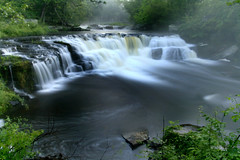Dark Waters 2 (slippay) Tags: longexposure nature water ilovenature outdoors hiking pennsylvania falls waterfalls rivers streams creeks pconos