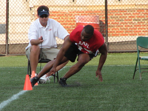 AAFL - Timed agility test
