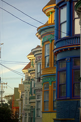 Haight & Ashbury (*~Dharmainfrisco~*) Tags: california trip travel homes color san francisco colours victorian 2006 haight dharma 2007 ashbury oneofkind aplusphoto colourartaward