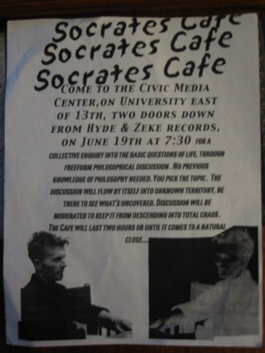 Socrates Cafe pic