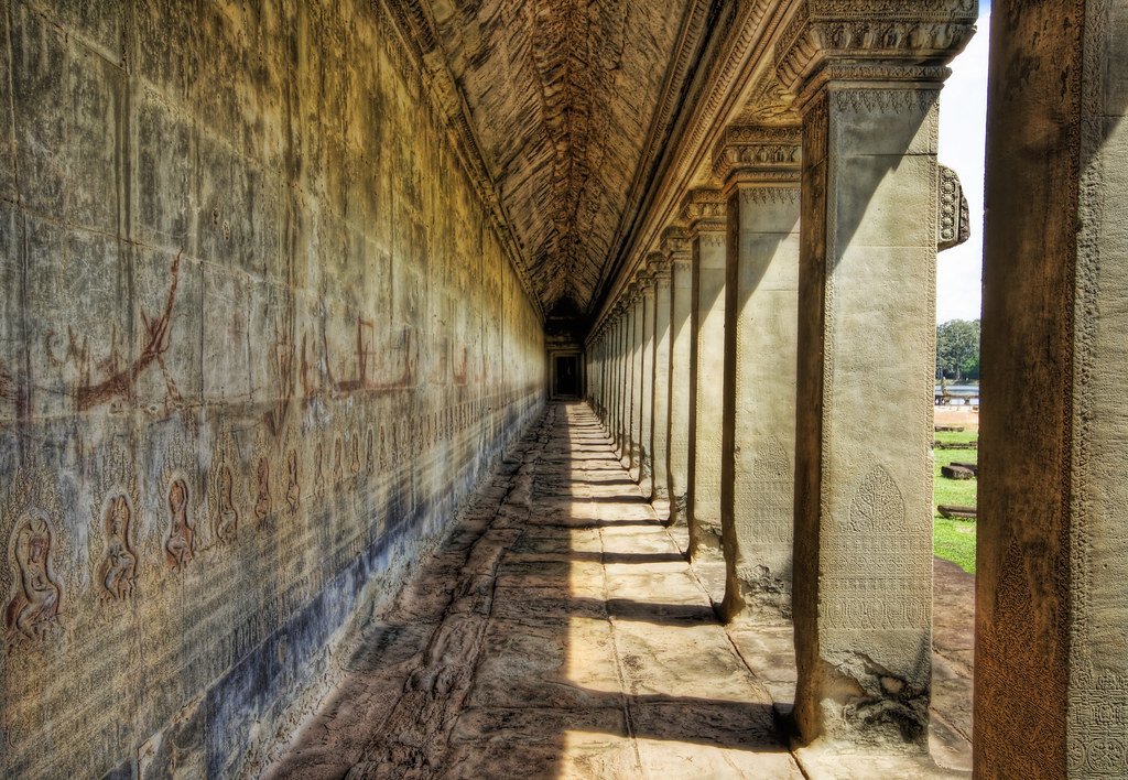 The Long Hall of the Temple