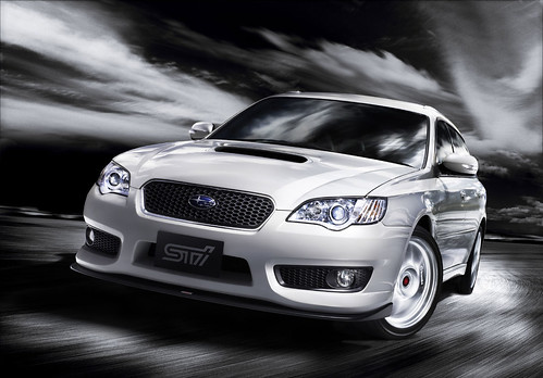 Subaru Legacy 2008 Tuned By STi 01