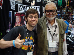 George Romero was 8 feet tall.