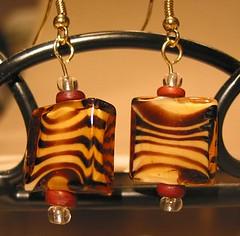 Handmade Earrings - Wild Side (Sent)