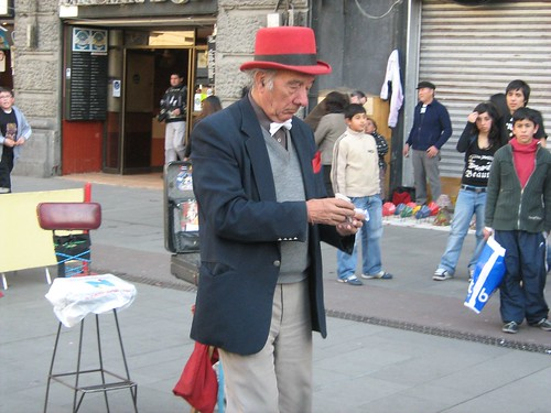 Street Magician at Plaza de Armas