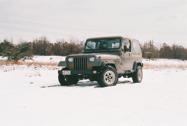 jeep 1988 yj wrangler