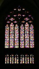 Cologne Cathedral, Gerhard Richter Window (Ambidexy) Tags: church window catholic cathedral dom fenster kirche cologne koeln klnerdom katholisch gerhardrichter
